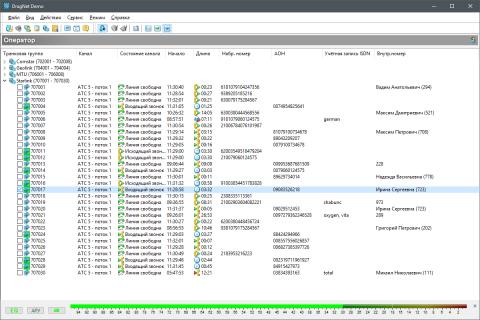 Демоверсия программного обеспечения «Drag-Net™ Клиент»